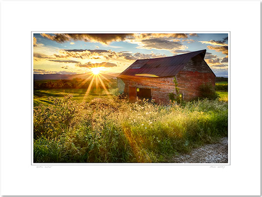 Barn-Glow-print-print-only-sample
