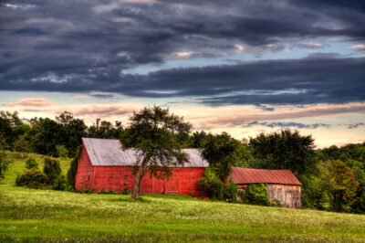 Barns-and-Clouds