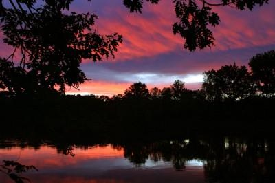 Connecticut-River-Sunset